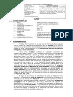 Sílabo Prác. Pp III 7 Abril 2014