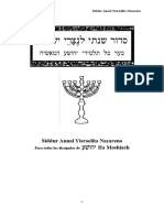 Siddur Anual Yisraelita Nazareno