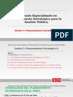 Diplomado Planeamiento Estrategico - Sesion 3