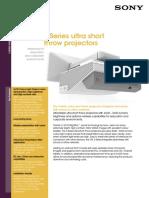 Sseries Ultra Short Throw Projectors