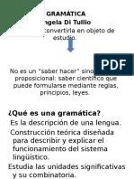 La Gramática (1)