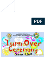 Turn Over Ceremony