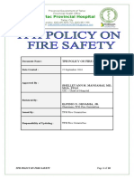 Tph Fire Safety Policy