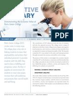 PJC Economic Study Executive Summary