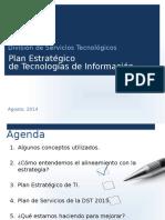 Planificación Estratégica de TI (2015-2018)