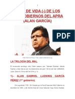 LOS DOS GOBIERNOS DEL APRA-ALAN GARCÍA