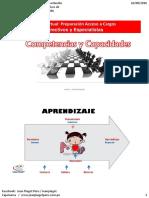 Con Pedagogicos Competencias Capacidades y Procesos Didacticos Carlos Yampufe 26-08-16
