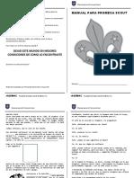 Manual Promesa Scout