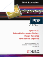 Zynq-7000 Extensible Processing Platform Design Workshop for Hardware Engineers