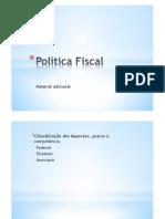 Politica Fiscal - Adicional
