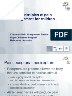 Pain Management Principles