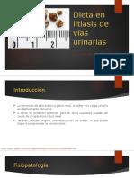 Llitiasis vias urinarias y renal / Hiperuricemia y gota
