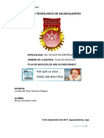 Plan de Negocios Air Home PDF
