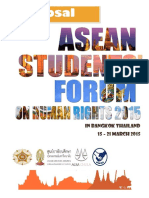 ASEAN Students Forum on Human Rights 2015