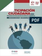 Participacion Ciudadana en Procesos de EIA 6 Paises