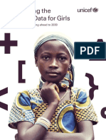 UNICEF Harnessing the Power of Data for Girls