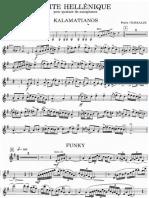 Pedro Iturralde - Suite Helenica (Saxophone Quartet) Correct