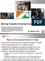 NHI4UHC Day 2_Session 2_Moving Towards Universal Coverage in India
