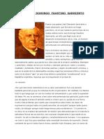 Biografía de Domingo Faustino Sarmiento