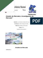 Estudios de Mercado Tarea 1