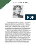 Biografia de Juan Manuel de Rosas