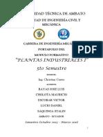 Portafolio de Plantas Industriales i Lucio Bayas Saquinga 1