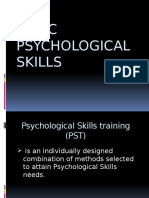 Basic Psychological Skills (Lalaine R. Dulatre)