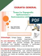 Topografia General Presentación Clase Magistral UTP