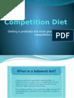 Competition Diet (Judy Ann Balolong)