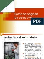Clasificacion Ciencia SERES VIVOS