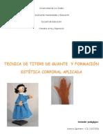 TÉCNICA TÍTERE DE GUANTE