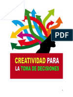 Creatividad Para La Toma de Decisiones