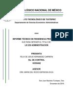 Plantilla Informe Tecnico Igefelix