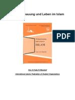 Weltanschauung & Leben Im Islam _ Abul A'la Mawdudi