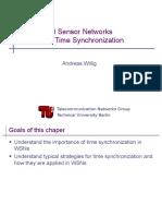 AdHoc Sensor Time Synchronization