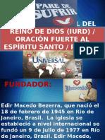 Iglesia Universal Del Reino de Dios (Iurd