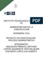ADMINISTRACION DE PROYECTO + cuestionario