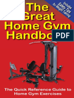 The Home Gym Workout Book