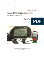 Bac-601 Lcd User Guide