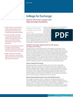 Disaster Recovery Coupled with High Exchange Availability