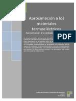 Aproximacion a Materiales Termoelectricos