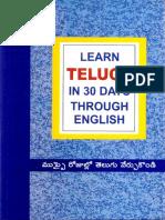 Learn Telugu in 30 Days Through English.pdf