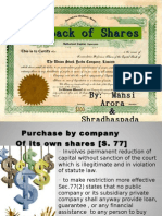 Buyback Share
