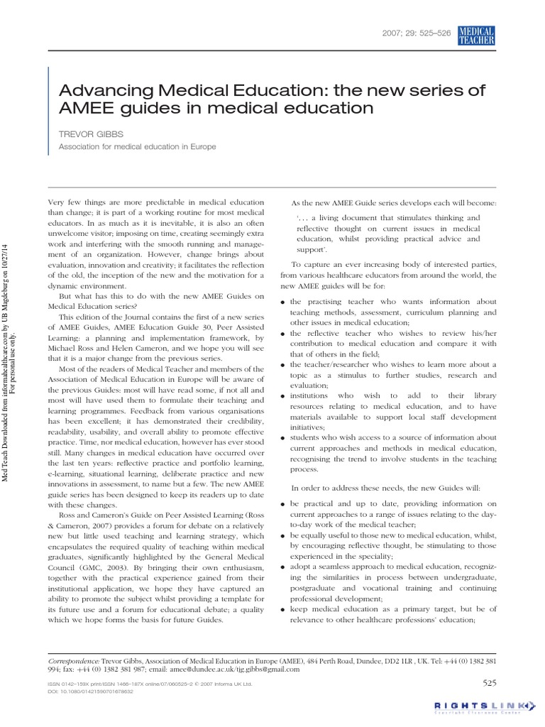 Where can I get a correspondence medical education