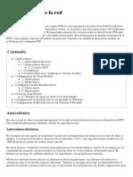 ConfiguraciónComponentesderedparaFTP