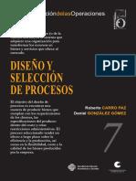 Diseño y Selección de Procesos