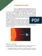 La Radiación Solar