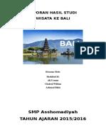 Laporan Hasil Studi Bali