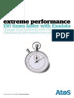 Atos Oracle Exadata Services