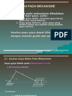 2. Gaya2 Statis Pd Mekanisme